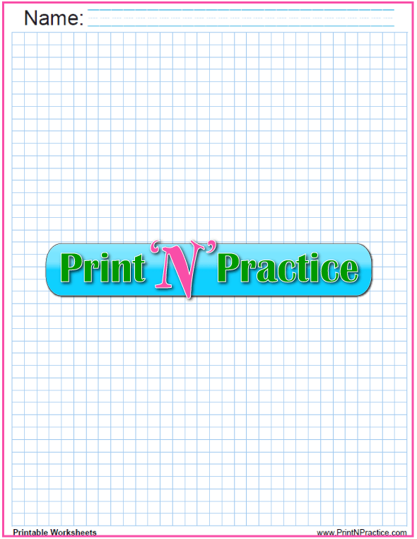 Quarter inch free graph - light blue. Draw on light blue graph paper, photocopy the drawing, and the blue lines will disappear!