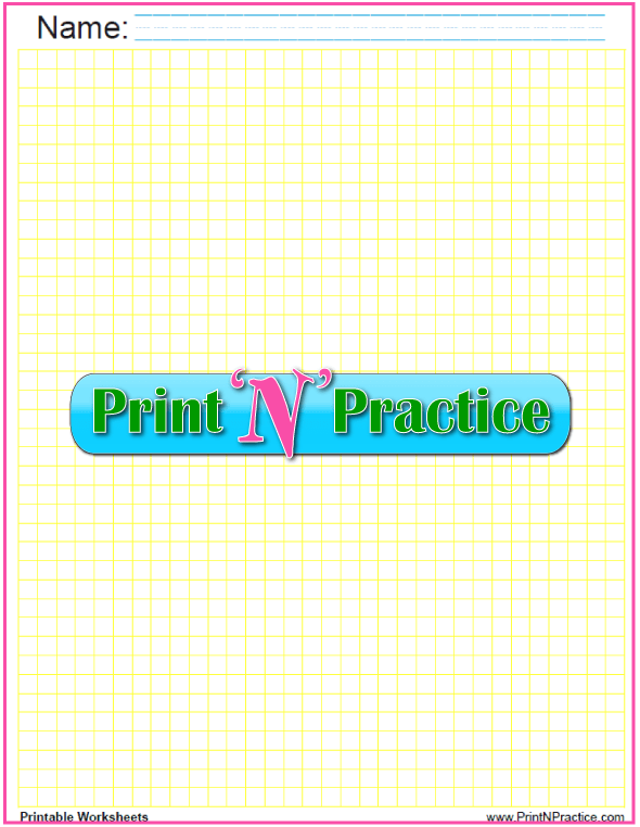 Quarter inch graph paper printable.