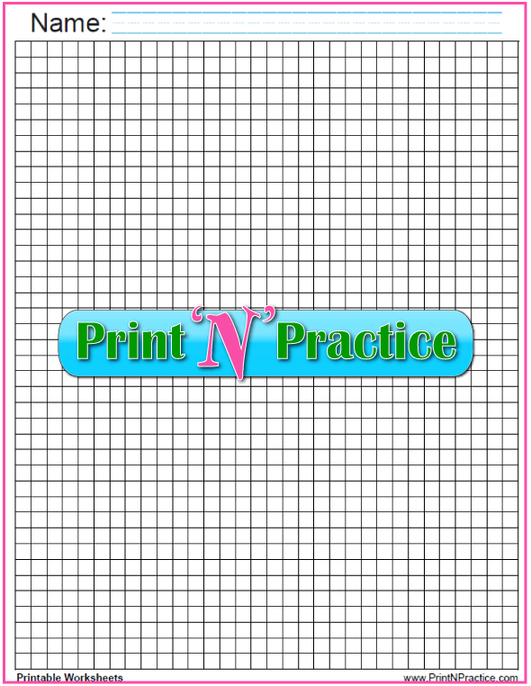 Printable Graph Paper: Black quarter inch