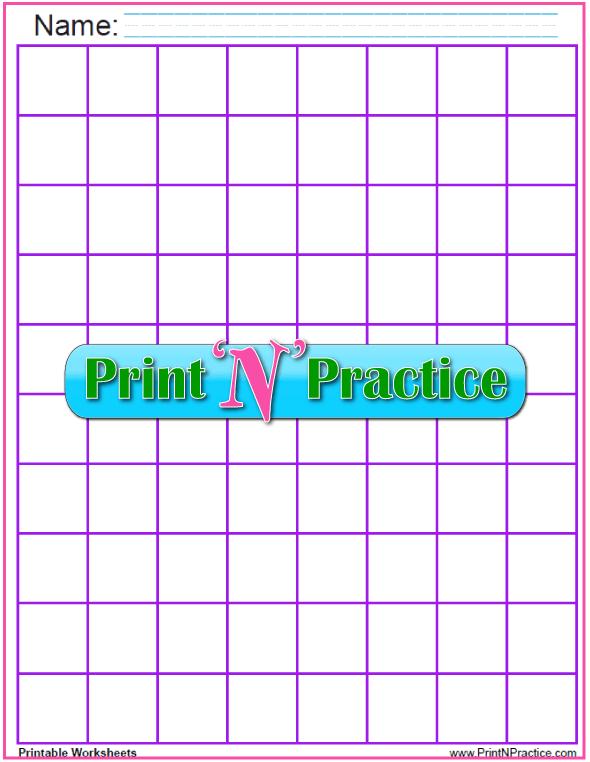large grid paper