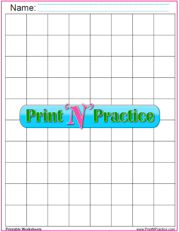 Black 1 inch graph paper download.