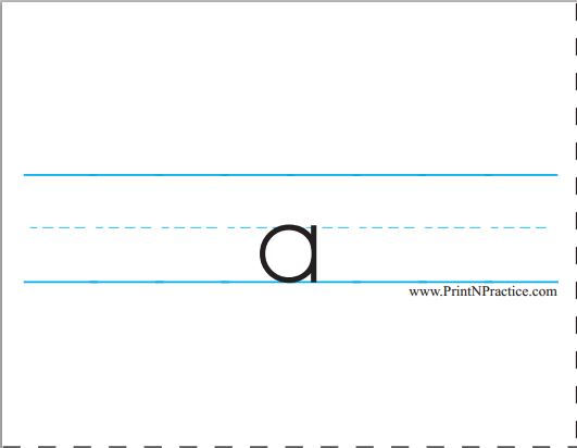 Printable Alphabet Flashcards For Preschool And Kindergarten