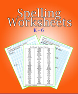 Spelling and handwriting worksheets download