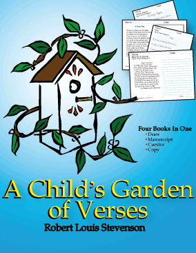A Child's Garden of Verses Reading Worksheets - 1st Grade Reading Comprehension Worksheets