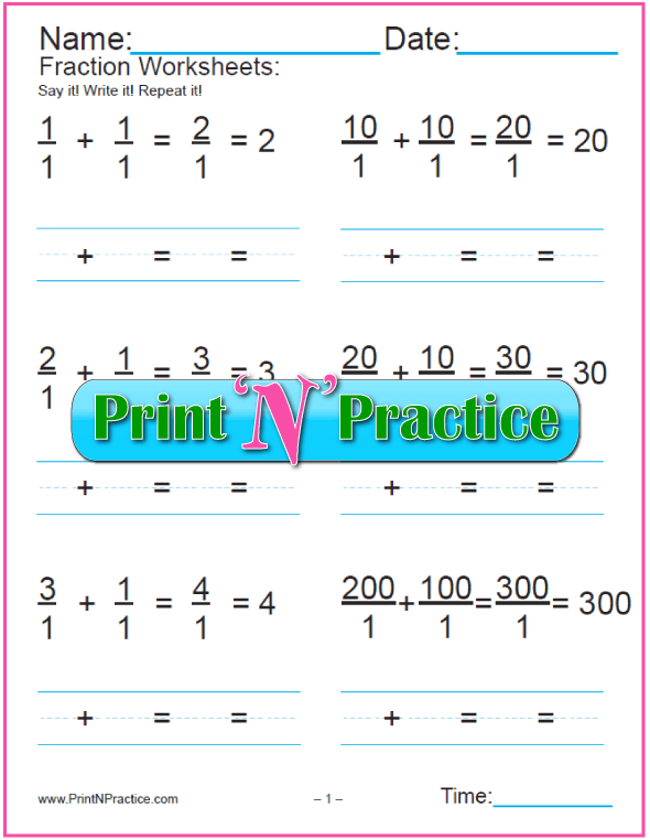 Easy Fraction Word Problems for Beginners.