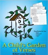 Handwriting worksheets: Child's Garden of Verses.