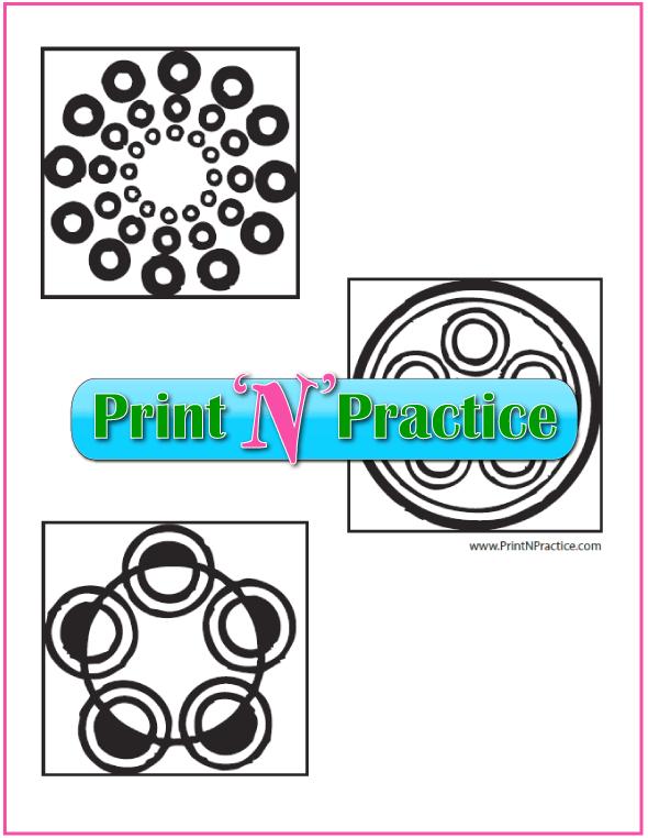 Printable Geometric Shapes Worksheets