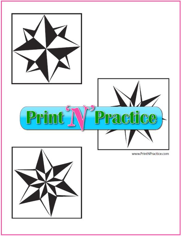 First Grade Math Worksheets: Printable Geometric Shapes Worksheets