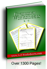 English Grammar Worksheets: Buy The Bundle