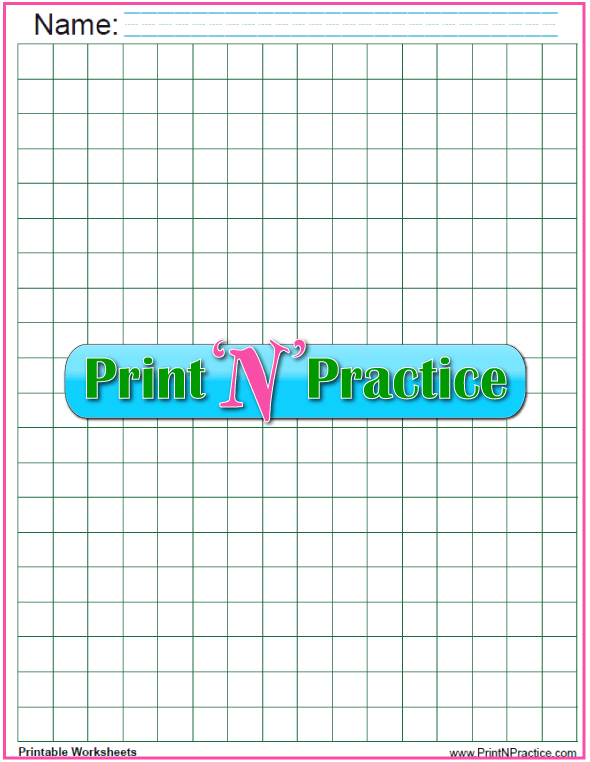 Green half inch graph paper downloads.