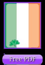 Irish Flag Printable Writing Paper