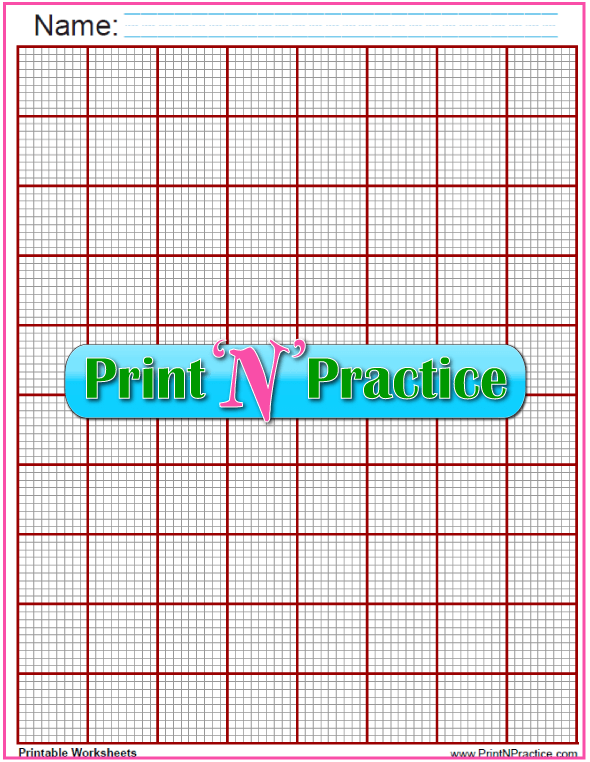 Gray and Maroon Knitting Graph Paper - ten lines per inch. These are interactive so you can plot your own patterns and designs.