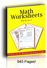 Buy Printable Worksheets for Math in this handy bundle.