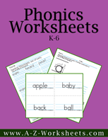 Printable Phonics Practice Worksheets