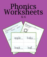 Printable Worksheets for Phonics download.