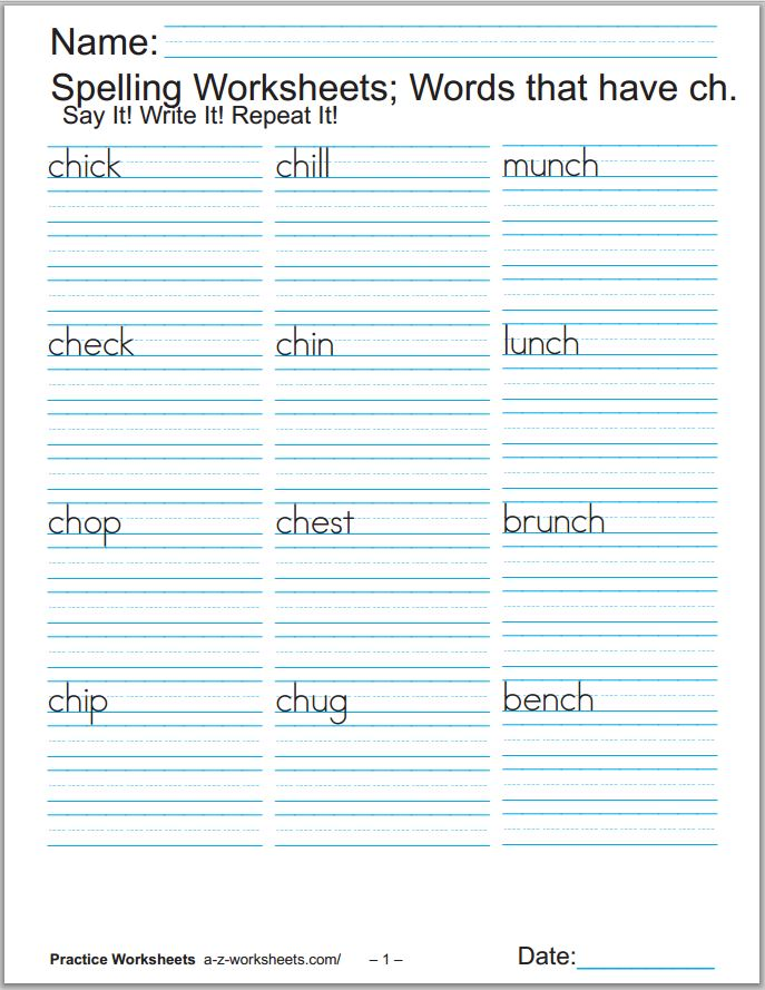 Worksheet 600870 Digraph Worksheets for Kindergarten Printable – Ch Worksheets for Kindergarten