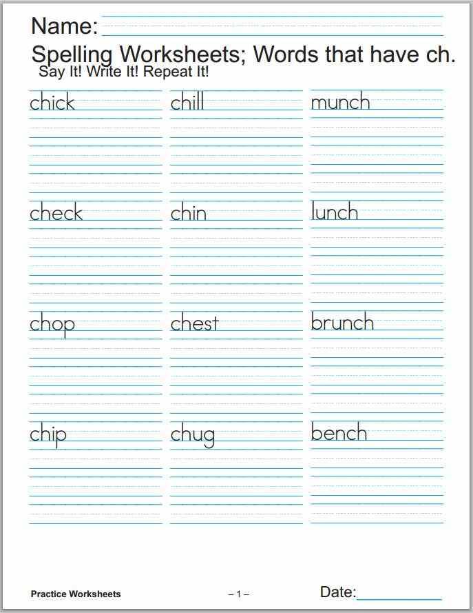 Practice Worksheets Printable Math Phonics Grammar