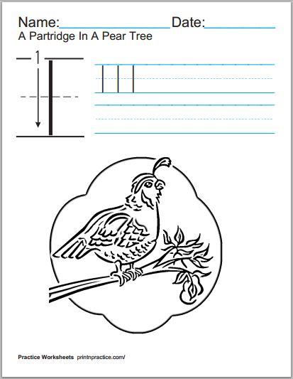 Printable Worksheets Blog - Practice Worksheets For Kids