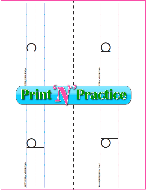 Lowercase Alphabet Flashcards To Print
