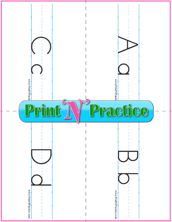 Upper And Lower Case Printable Alphabet Flash Cards