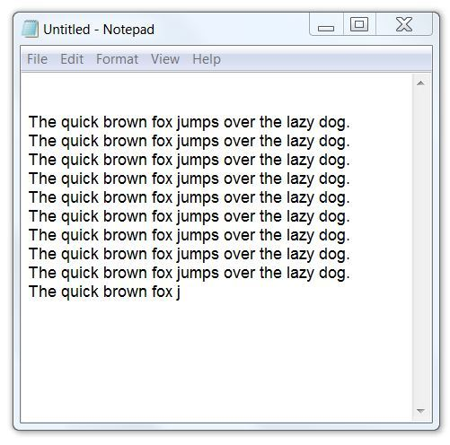 Free Typing Practice - 'quick brown fox...