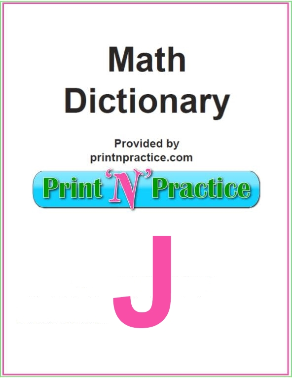 Math Words That Start With J: Joint, Joule, Jump.