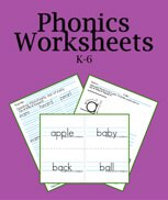 190+ Printable Phonics Worksheets: Buy them all in one bundle. Letters, phonograms, digraphs, and trigraphs.