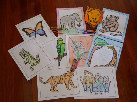 Coloring Pages To Print with PrintNPractice printable worksheets.