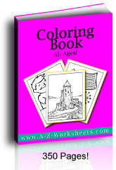 Buy this printable Coloring Page bundle here.