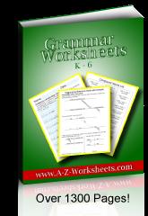Printable English Grammar Worksheets - See and order here. English Grammar PDF.
