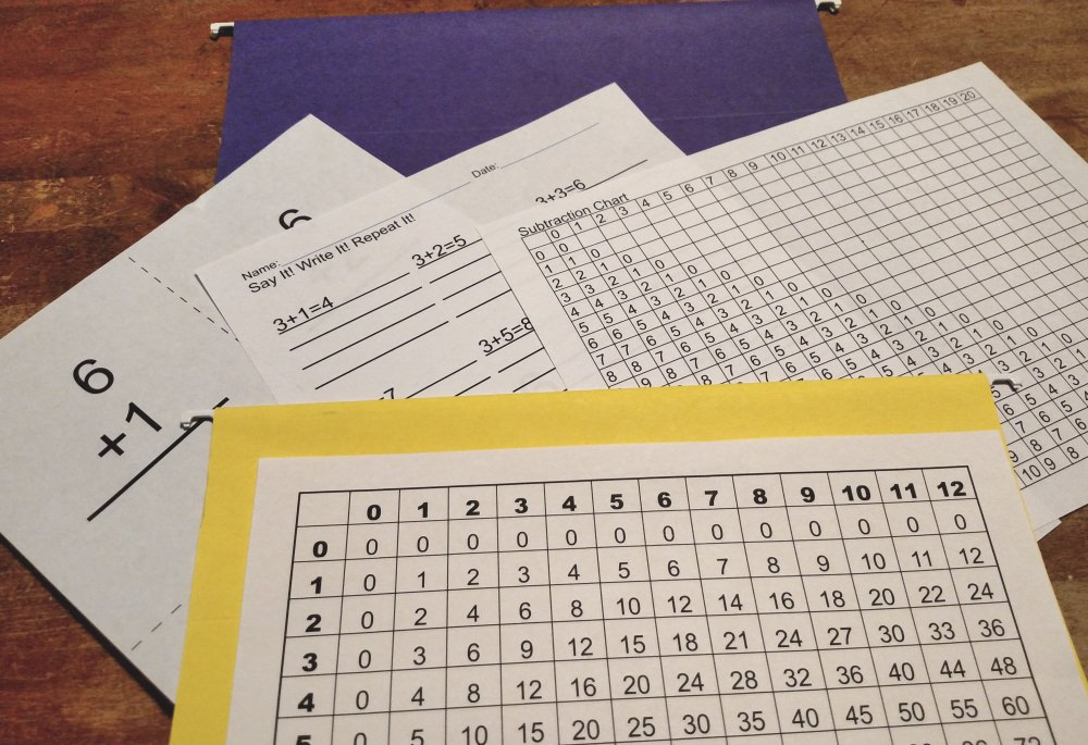 Math Practice Worksheets For Kids