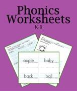 Printable Worksheets for Phonics download.