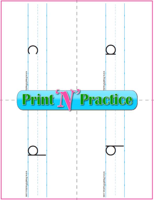 Lowercase Alphabet Flashcards To Print